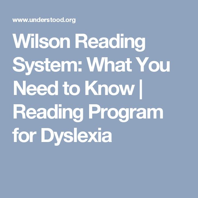 Wilson Reading System: What You Need to Know | Reading Program for Dyslexia