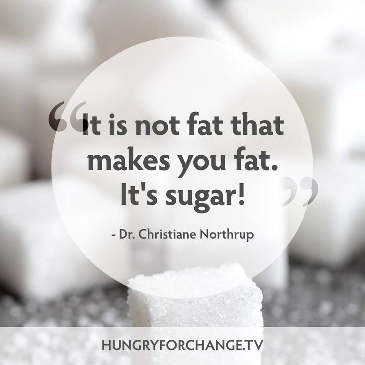 Simple really....   Discover why in Hungry For Change! www.hungryforchange.tv
