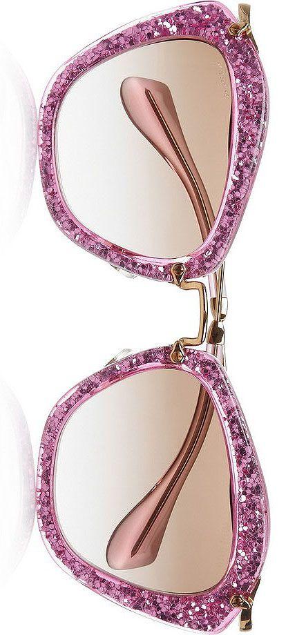 Cat Eye Sunglasses by Miu Miu