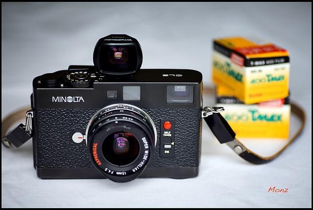 Leica CL/Minolta CLE/M lens mount camera. [want]