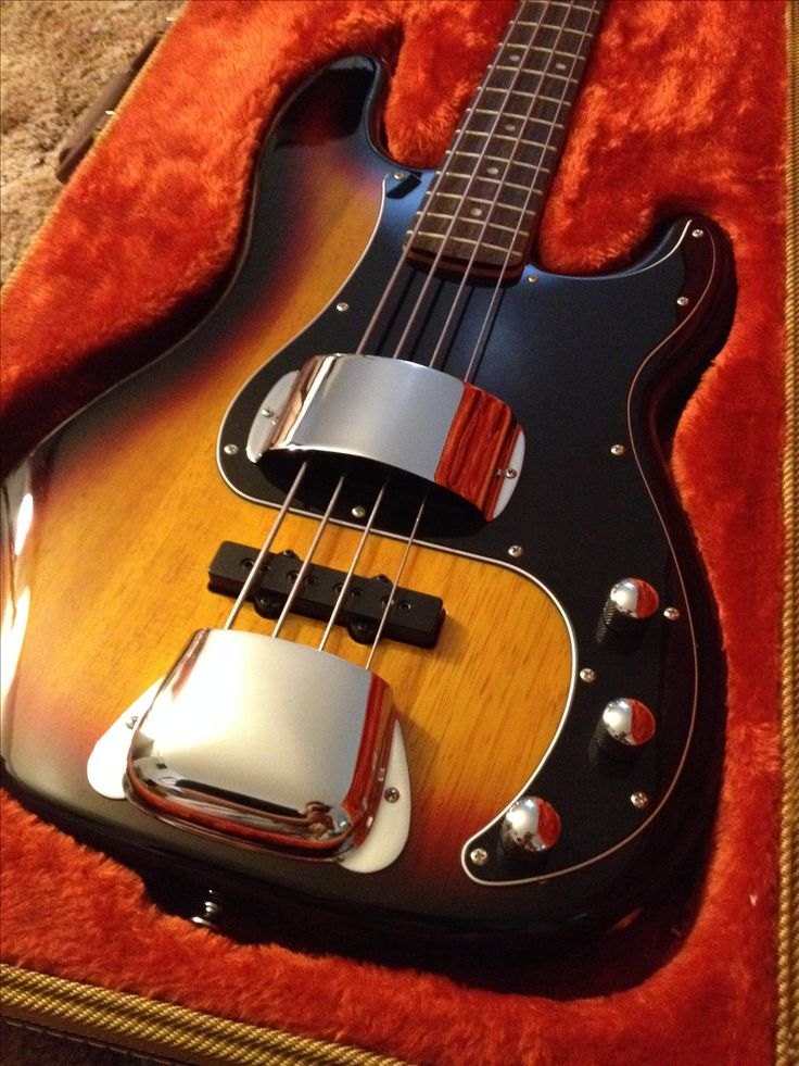 Squire Vintage Modified Precision Bass PJ with Fender Pickup Cover and Bridge cover with String Mute