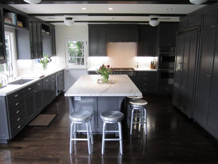 kitchen floor wood best 25 painted gray cabinets ideas on grey 1687
