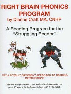Right Brain Phonics Reading Book