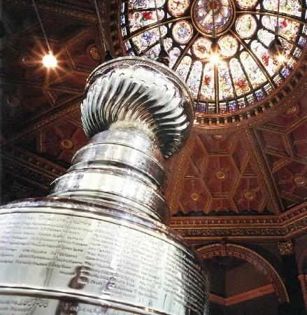 the cup @ the hall of fame in toronto...first saw it here with les before we were married