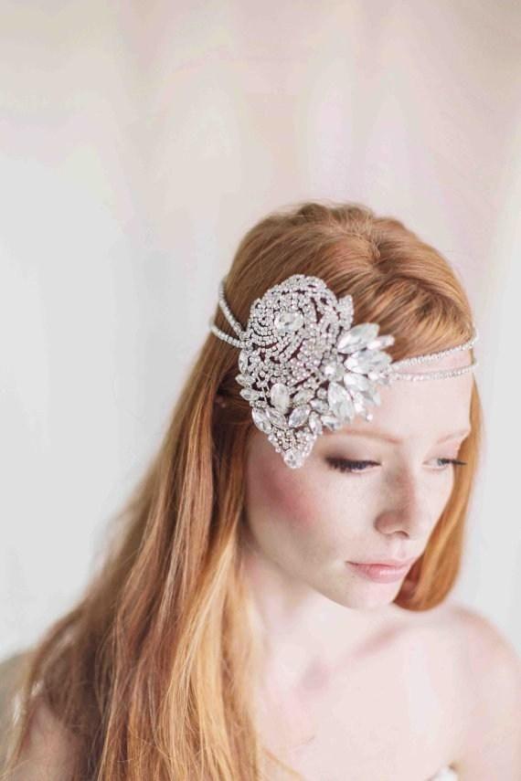 2015 sweetheart lusso di forma capelli da sposa con diademi scintillanti cristalli, paillettes rhinestons di moda a buon mercato gli accessori da sposaall'ingrosso