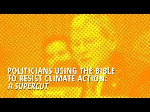 Blue Marble - November 2013 | Why Climate Change Skeptics and Evolution Deniers Joined Forces | Using the Bible to Resist Climate Action: A Supercut | I can't say that this surprises me in the least. Anyone that can believe in an omnipotent being can believe anything fed to them by others professing the same belief. Sad really that these people have no ability to think for themselves.