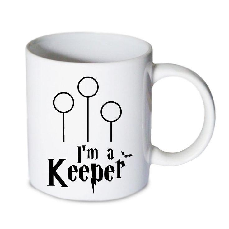 Coffee mug - Im A Keeper Harry Potter Mug - Custom Coffee mug - Ceramic mug by babydragonshop on Etsy   #mug #harry #potter #mugs #cups #coffee #tea #hot #sublimation #quote #gift #birthday #custom #lyric #band #mom #sister #men #women #11oz #Ceramic #white #belcher #burger #yonce #beyonce #jon #snow #hogwart