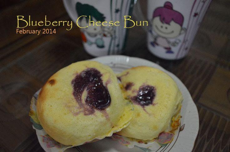 Sweet Bun : Blueberry Cheese Sweet Sour taste. Yummy