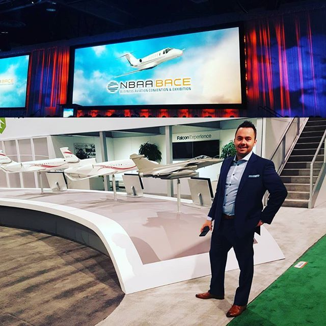 If you're in Las Vegas for the NBAA conference stop by for a coffee and meet with our CEO Mr. Justin Crabbe.