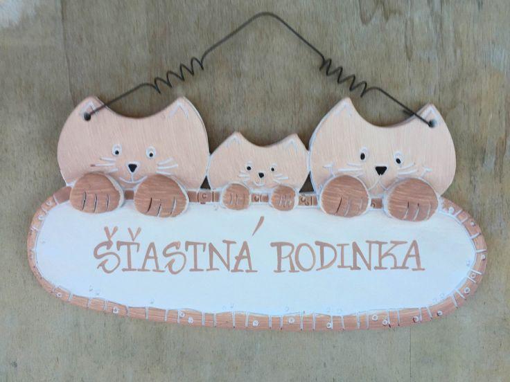 """Kočky """"Šťastná rodinka"""" :: Keramika Andreas"""