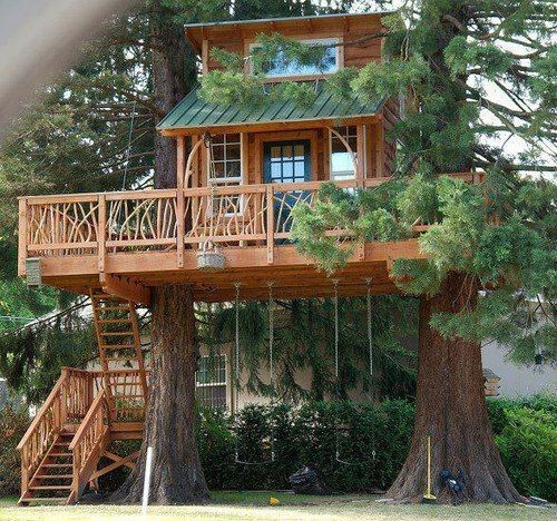 Tree House, Stanwood, Washington