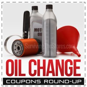 If your car is due for an oil change, don't get one without checking all of the current oil change coupons first!! This is a HUGE Round-up of oil change printable coupons from tons of national oil change shops!