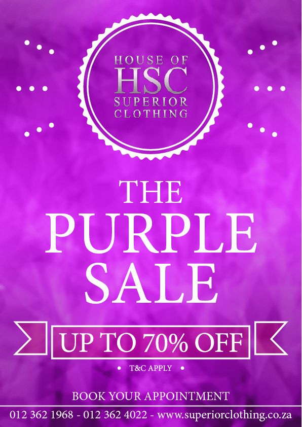 The Purple Sale is Here