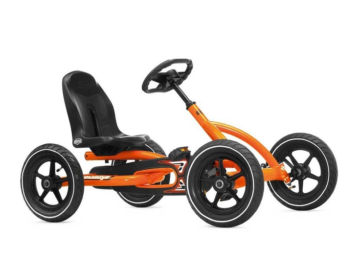 BERG TOYS - Buddy Orange Pedal Go Kart