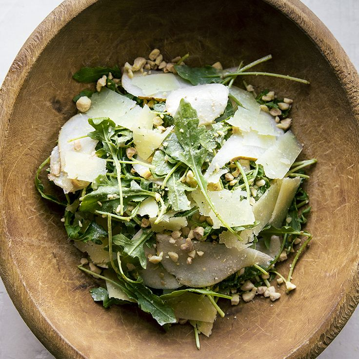 A dinner party of bold, salty tapas (Spanish-style small plates) gains an element of freshness from this slightly sweet, crunchy salad,...