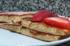 Cómo preparar panqueques de avena y plátano