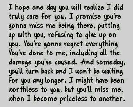 i hope one day...