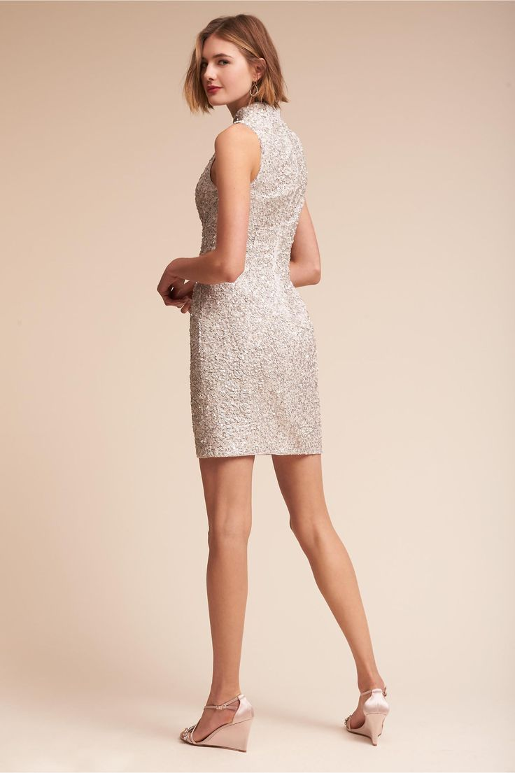 BHLDN Embassy Dress  in  Aidan by Aidan Mattox Bride Little White Dresses | BHLDN