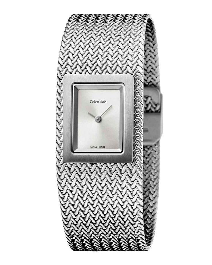 Ρολόι Calvin Klein Mesh Ladies K5L13136