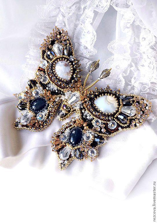 "Butterfly brooch ""Samantha"", Agija Rezcova"