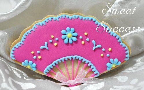 Fan Sugar Cookie 3