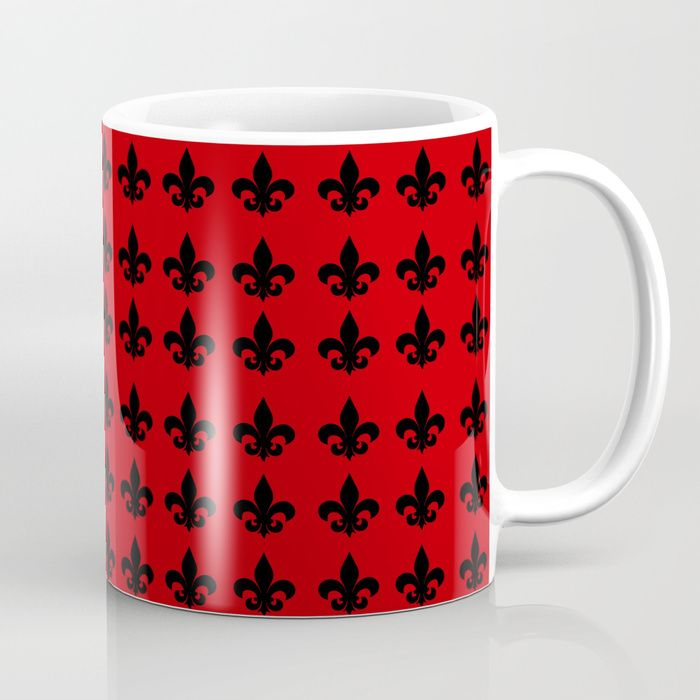 25% Off This Item Today + Get Free Shipping! FROM $15.99 ONLY $11.99 !!  Fleur-de-lis Coffee Mug by Scar Design #cybermonday #sales #save #discount #mug #coffeemug #fleurdelis #crest #sigil #red #society6 #gifts #giftsforhim #giftsforher #home #family #style #39 #shopping #onlineshopping #xmas #christmas #xmasgifts #freeshipping #christmasgifts