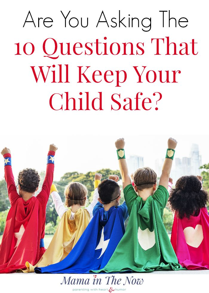 Ten Questions You MUST Ask Before a Play Date! + FREE Printable!