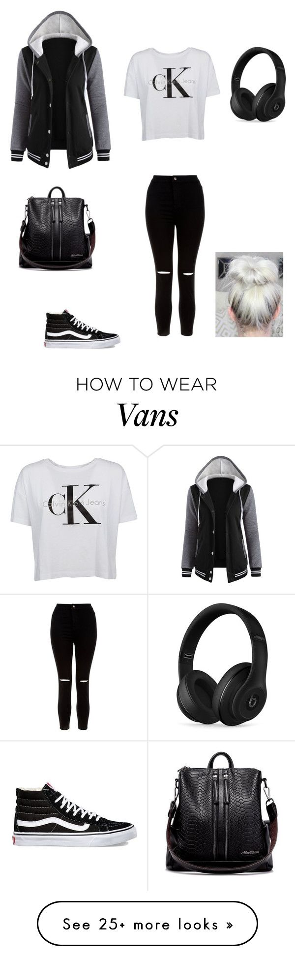 """Untitled #20"" by myamarie8 on Polyvore featuring Vans, New Look and Beats by Dr. Dre"