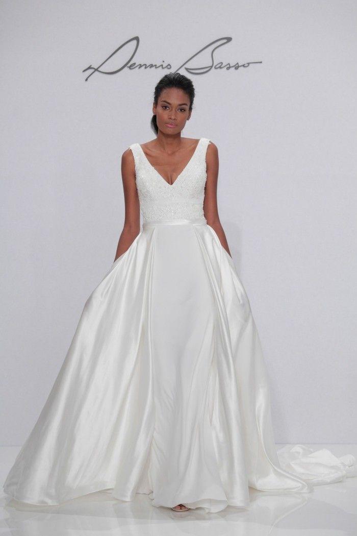 falling slightly wedding dresses as idea