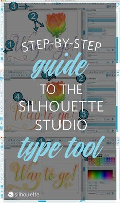 All Things Text Tool: A Silhouette Studio Tutorial by Christine from Where The…