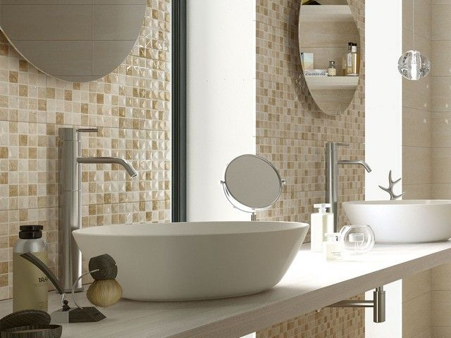 Rivestimento bagno effetto marmo tivoli iperceramica rivestimenti bagno bathroom - Bagno effetto marmo ...