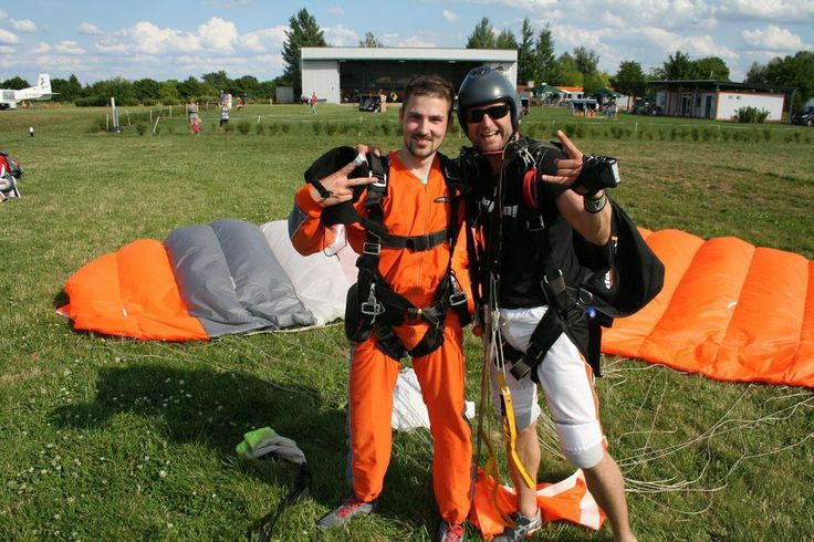 Safely back on Earth! #skydiving