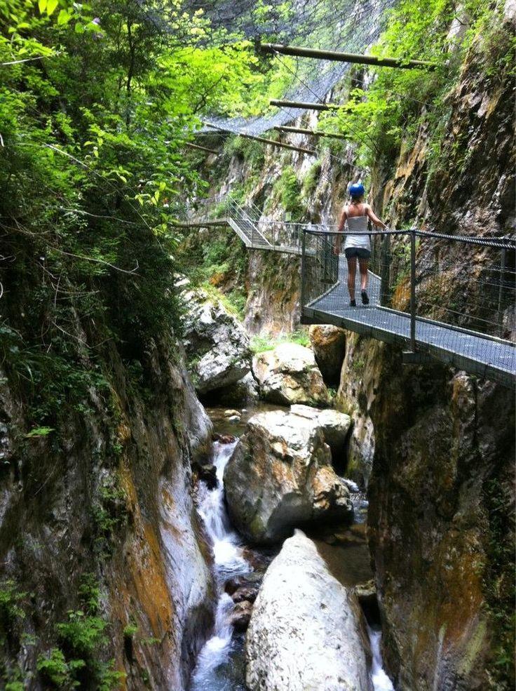 Gorges de la Fou, Pyreneeën, Frankrijk
