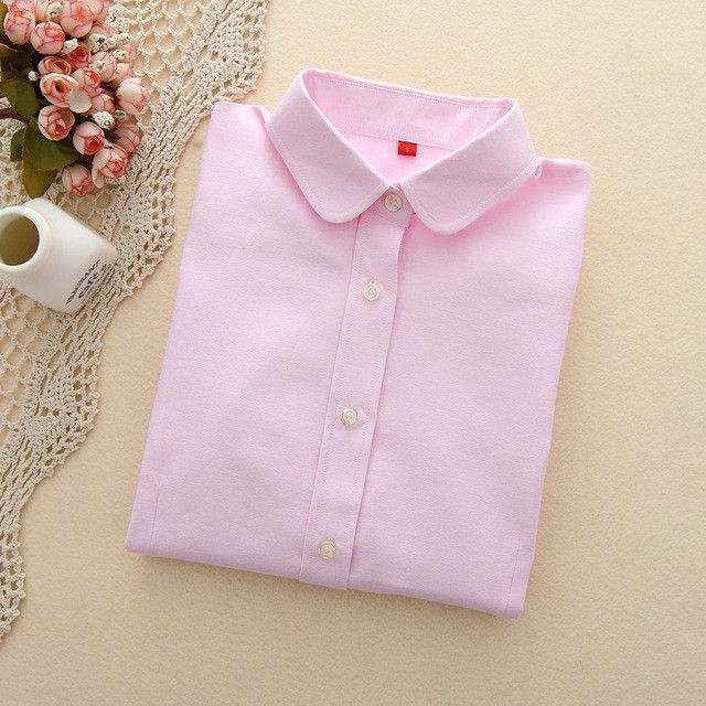 Western Style Collared Button Solid Color Shirt