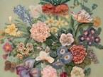 Gorgeous wool embroidery