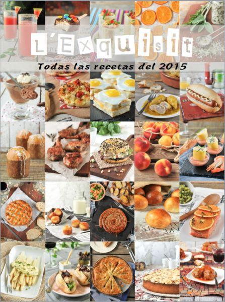 Recetario 2015: más de 150 recetas en un documento PDF gratis
