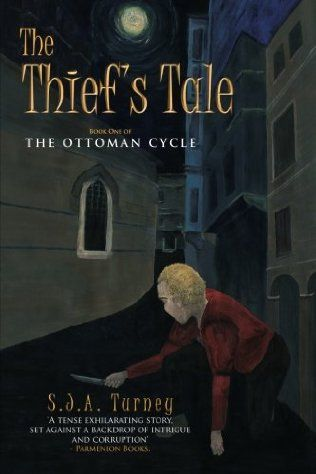 book cover of   The Thief's Tale