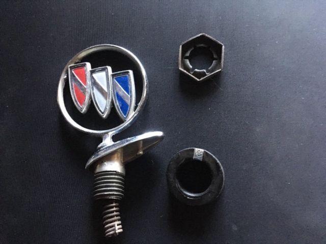 1991-96 Buick Park Avenue Hood Ornament Emblem Chrome 91 92 93 94 95 96   eBay
