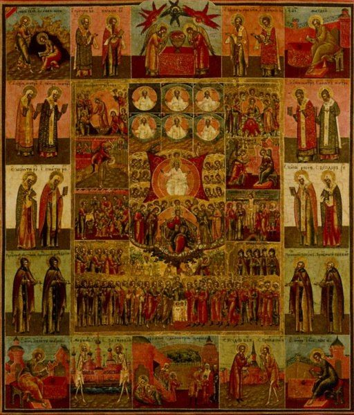 Icons of the Time of Romanov's dynasty. Collection of Viktor Bondarenko more free materials on our site: http://www.versta-k.ru/en/articles/ The best books about the technology of the icon-painting: http://www.versta-k.ru/en/catalog/66/ the materias for the icon-painting: http://www.versta-k.ru/en/catalog/14/ http://www.versta-k.ru/en/catalog/95/ The delivery to any point of the world