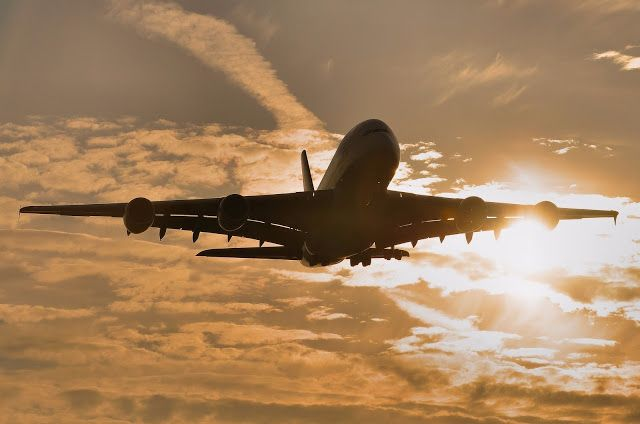 Singapore Airlines A380-800 Heathrow Silhouette Aircraft Wallpaper 4026