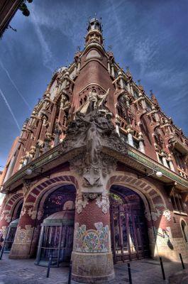 Barcelona - Pałac Muzyki Katalońskiej