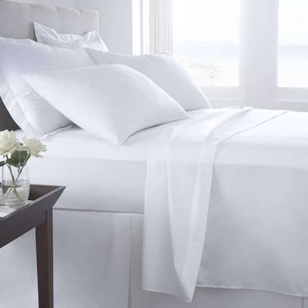 500 Thread Count Organic Cotton Solid Sheet Set