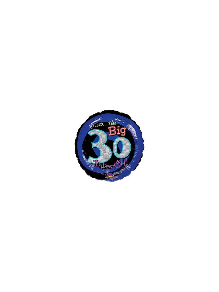 Oh No! 30th Birthday Balloon - Balloons and 30th Birthday Parties Supplies