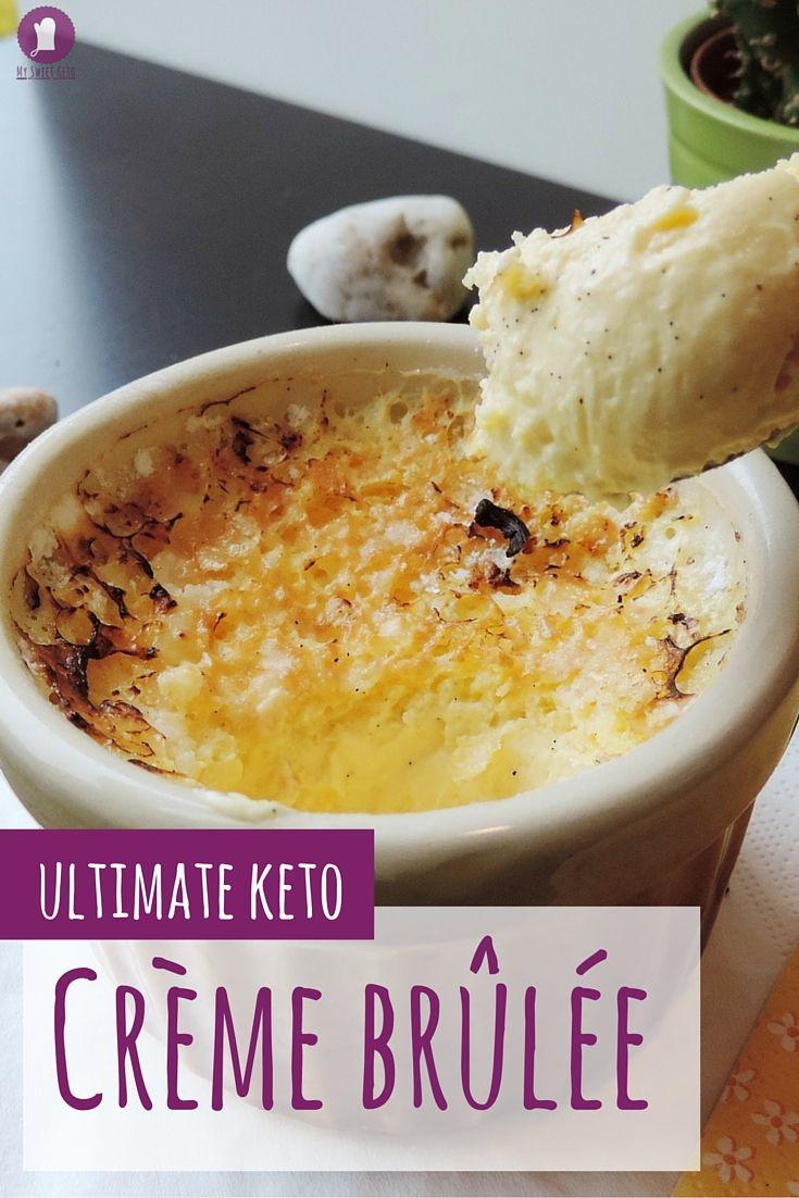 Ultimate Keto Crème Brûlée