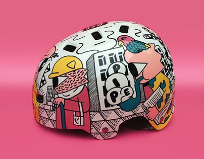 "Check out new work on my @Behance portfolio: ""Helmet, City"" http://be.net/gallery/38222161/Helmet-City"