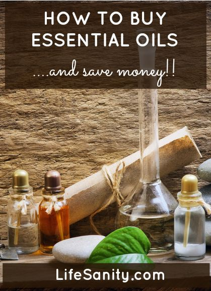 How to Buy Essential Oils and Save Money! | Life Sanity