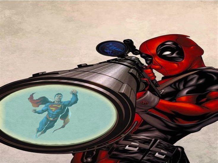 Remember when DeadPool teamed up with that bald guy and shot green bullets that killed that super dude.