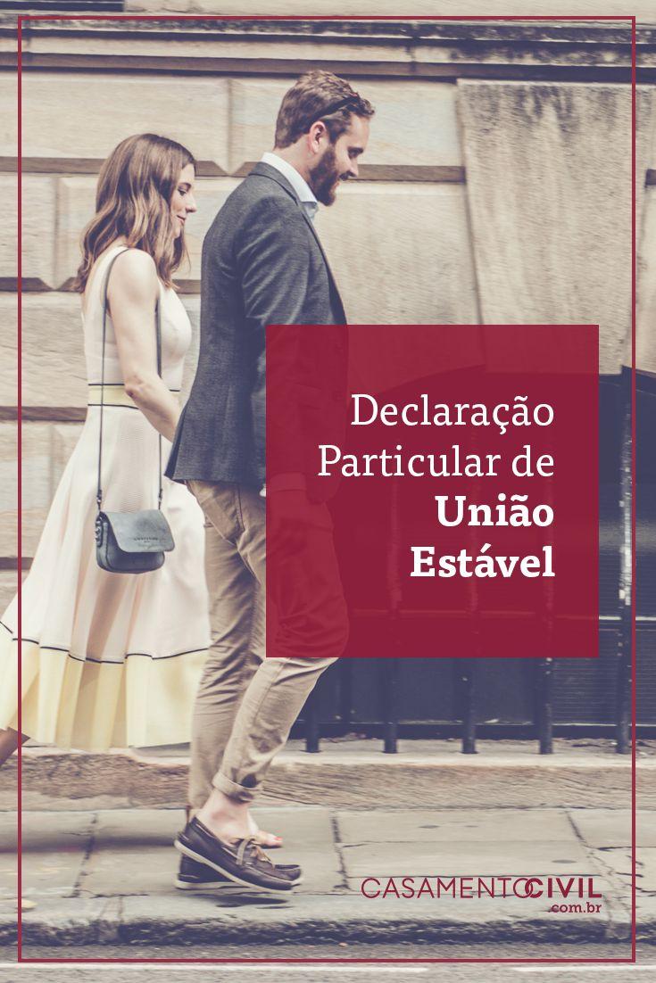 A Declaração Particular de União estável é uma forma de documentar o relacionamento do casal. Saiba aqui como funciona essa união e suas vantagens.
