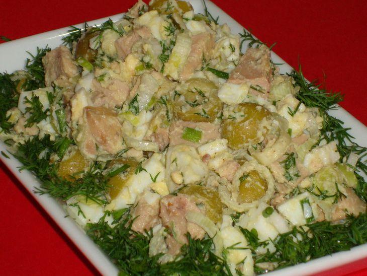 Рецепты салатов из печени с фотографиями