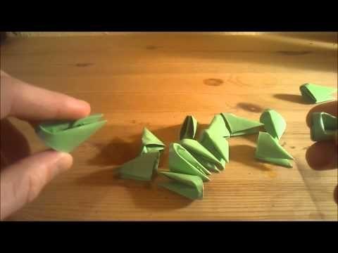 3D Origami für Anfänger Deutsch - YouTube